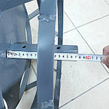 Колеса с грунтозацепами 400/160 (10*10) МБ С ПОЛУОСЬЮ 32мм, фото 4