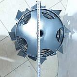 Колеса с грунтозацепами 400/160 (10*10) МБ С ПОЛУОСЬЮ 32мм, фото 9