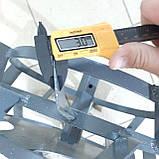 Колеса с грунтозацепами 400/160 (10*10) МБ С ПОЛУОСЬЮ 32мм, фото 10
