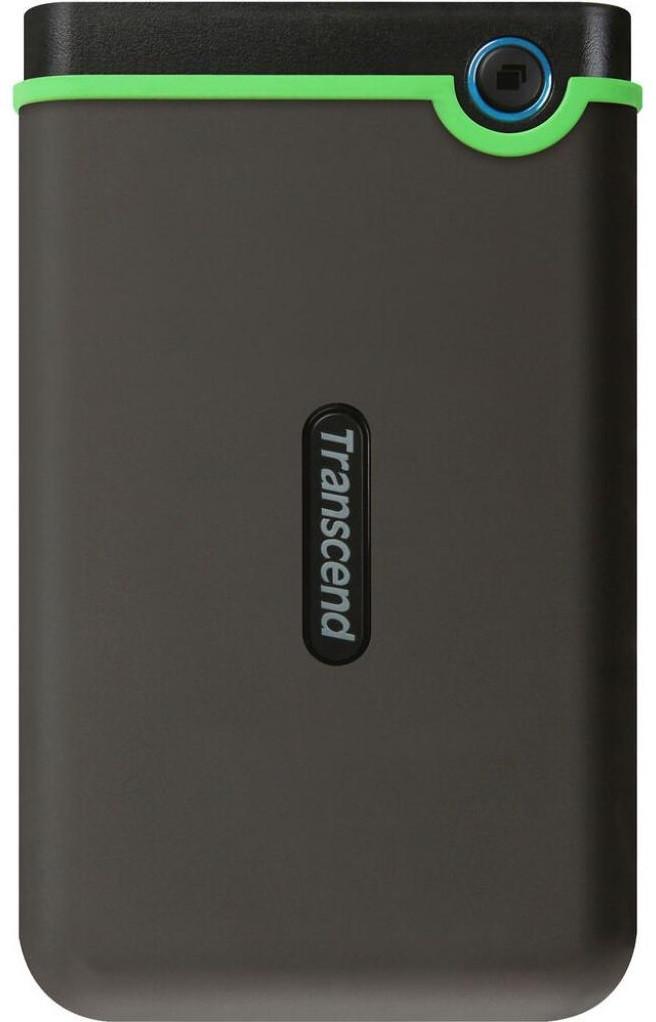 Зовнішній диск HDD External 2.5'' 4TB Transcend StoreJet 25M3 Iron Gray  USB 3.1 (TS4TSJ25M3S) (код 116220)