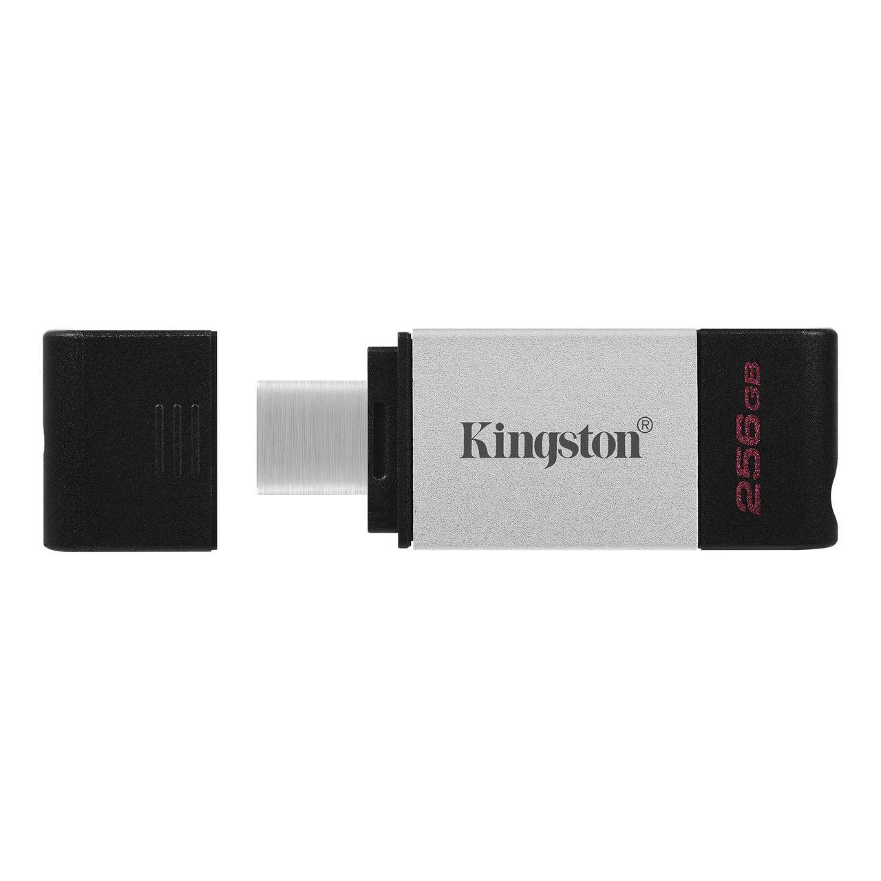 Накопичувач Type C Flash drive Kingston DataTraveler 80 256GB Type C (USB3.2) (код 116318)
