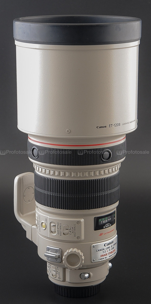 Объектив Canon EF 200mm f/2L IS