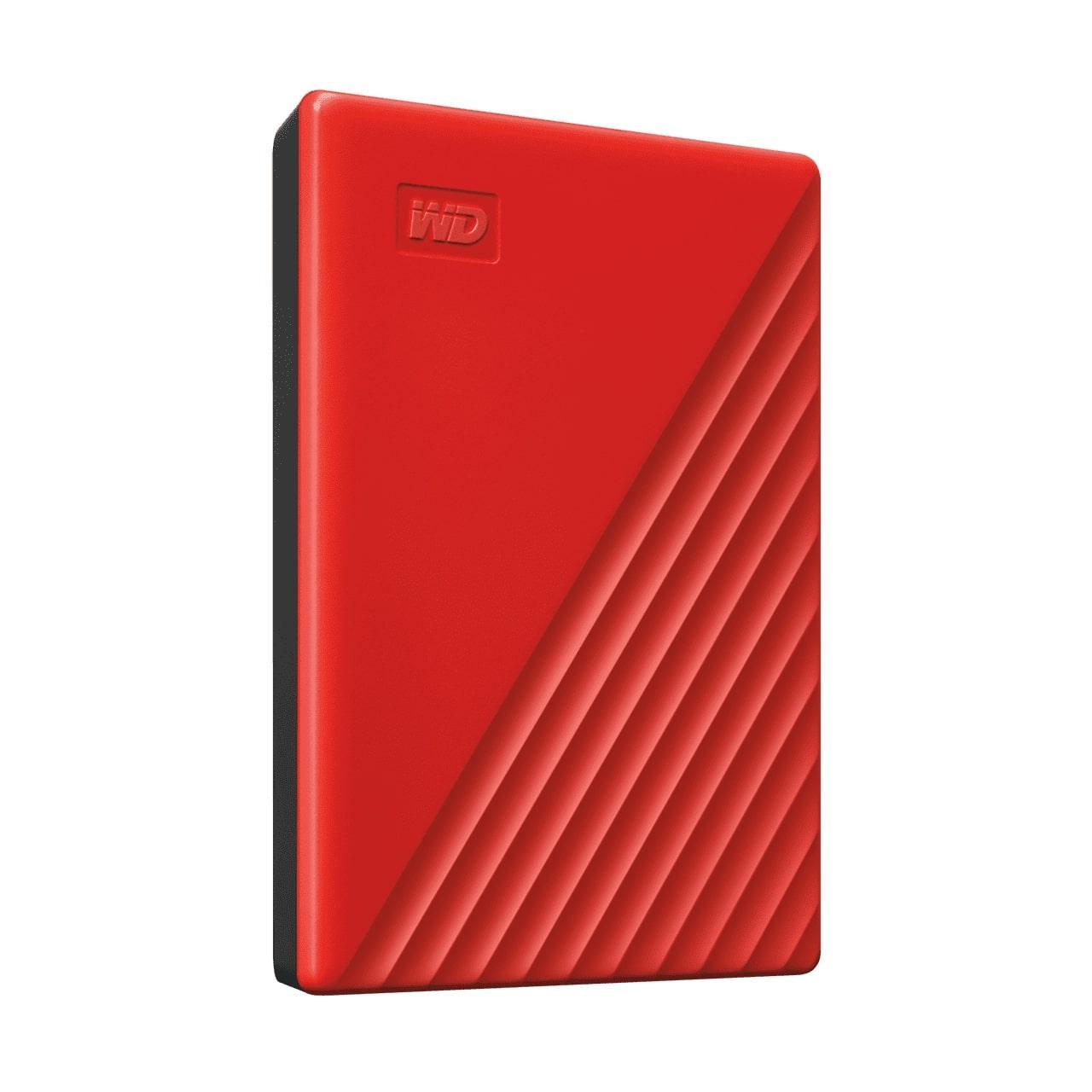 Зовнішній диск HDD External 2.5'' 4TB Western Digital My Passport Red  USB 3.2 (WDBPKJ0040BRD-WESN) (код