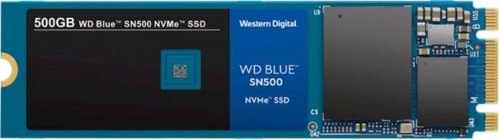 Твердотільний диск SSD M.2 500GB Western Digital Blue SN500  NVMe PCle 3.0 4x 2280 Sequential Read/Write