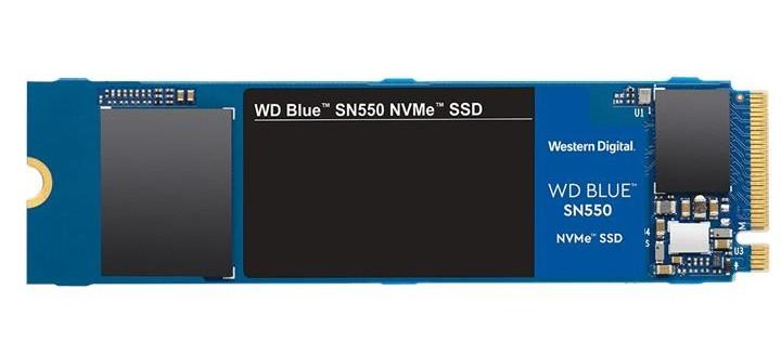Твердотільний диск SSD M.2 250GB Western Digital Blue SN550   NVMe PCle 3.0 4x 2280 Sequential Read/Write