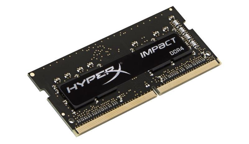 Пам'ять SoDDR4 8GB KingSton HyperX 2933MHz PC3-23500 Impact (HX429S17IB2/8) (код 116753)