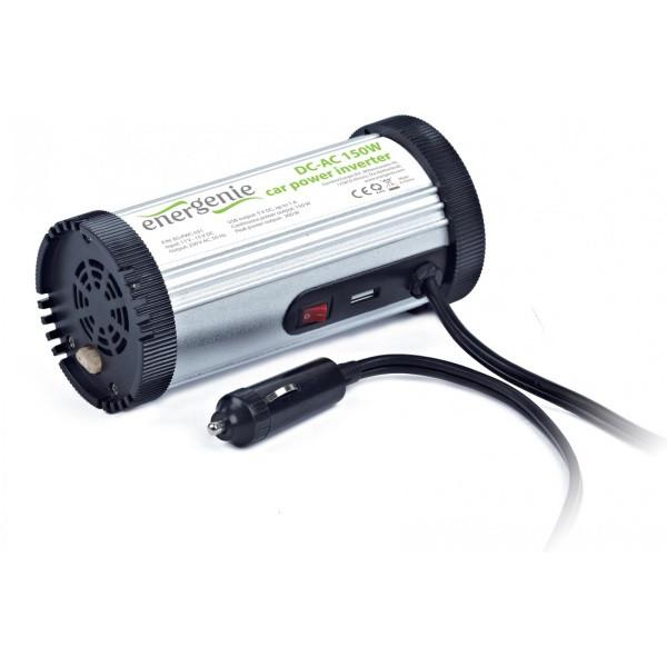 Автомобільний інвертор EnerGenie 150 W (EG-PWC-031) (код 66895)