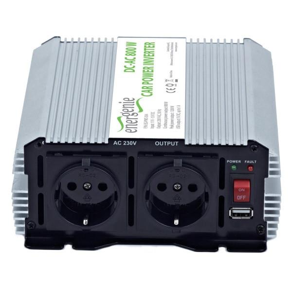 Автомобільний інвертор EnerGenie 800 W (EG-PWC-033)  (код 66898)