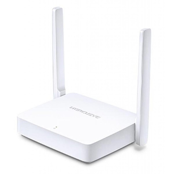 Маршрутизатор Mercusys MW301R (IEEE 802.11n, 300Mbps, 2.4GHz, 2 Lan, 2 ant.) (код 101903)