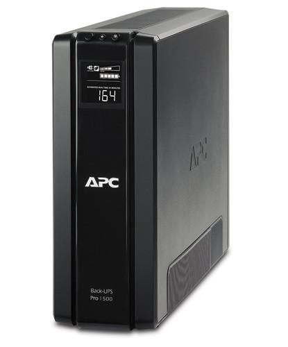 Блок безперебійного живлення APC Back-UPS Pro 1500VA CIS (BR1500G-RS) (6роз., 865Вт/1500ВА, 5хв при 50%,