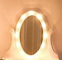 Туалетный столик с зеркалом с подсветкой В-066 L