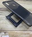 Чехол на Xiaomi Redmi Note 5 силиконовый прозрачный затемненный бампер, фото 2