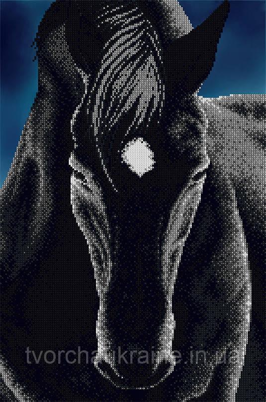 """Схема на ткани для вышивания бисером """"Сапфир"""" (серия Элит)."""