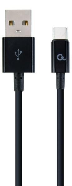 Кабель Cablexpert USB 2.0 - USB-C (CC-USB2P-AMCM-2M) A-папа/C-папа, 2 м  (код 109066)