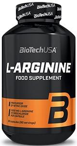 Аргинин BioTech - L-Arginine  (90 капсул)