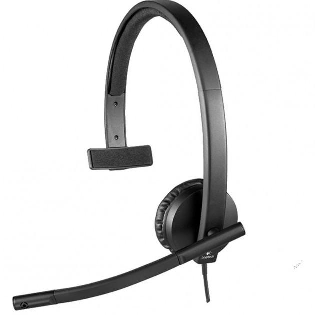 Навушники Logitech H570e USB Headset Mono (981-000571) (код 114345)