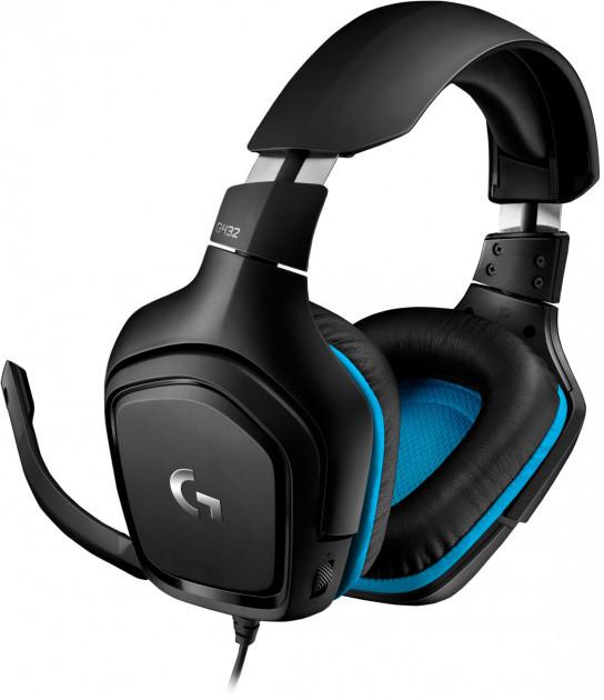 Навушники Logitech Wired Gaming Headset G432 Black (981-000770) (код 114347)
