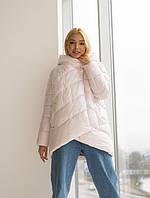 Нежная женская куртка на зиму
