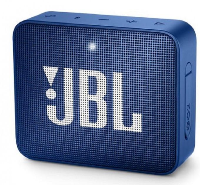 Акустична система 1.0 портативна JBL GO 2, безпровідна, водозахищена, 1xMicro-USB, 1xStereo jack 3.5mm,