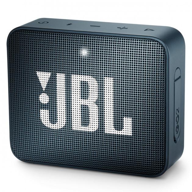 Акустична система портативна 1.0 JBL GO 2, безпровідна, водозахищена, 1xMicro-USB, 1xStereo jack 3.5 mm,