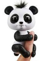 Інтерактивна ручна панда WowWee Fingerlings чорна іграшки для хлопчика дівчинки дитячі розвиваючі іграшки