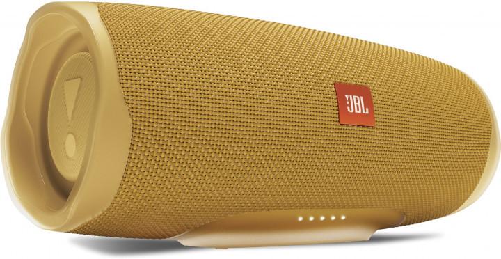 Акустична система 1.0 портативна JBL Charge 4, безпровідна, водозахищена, Bluetooth, Yellow Mustard