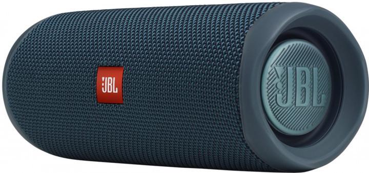 Акустична система 1.0 портативна JBL Flip 5, безпровідна, водозахищена, Bluetooth, Blue (JBLFLIP5BLU) (код