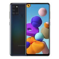 "Смартфон Samsung Galaxy A21s BLACK (A217F, 6.5"", 1600x720, 3/32GB, 2 SIM) (код 114379)"