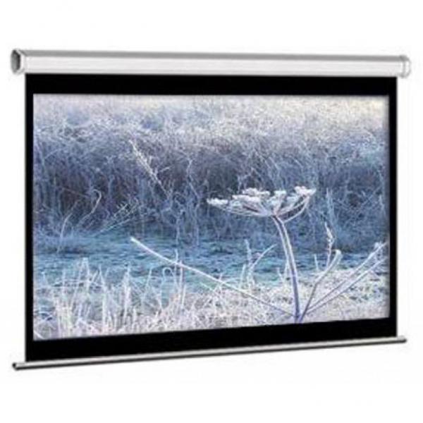 """Екран ELITE SCREENS 203 Х 152см,  100"""" (4:3), настінний, ручний (M100NWV1) White Case  (код 46550)"""