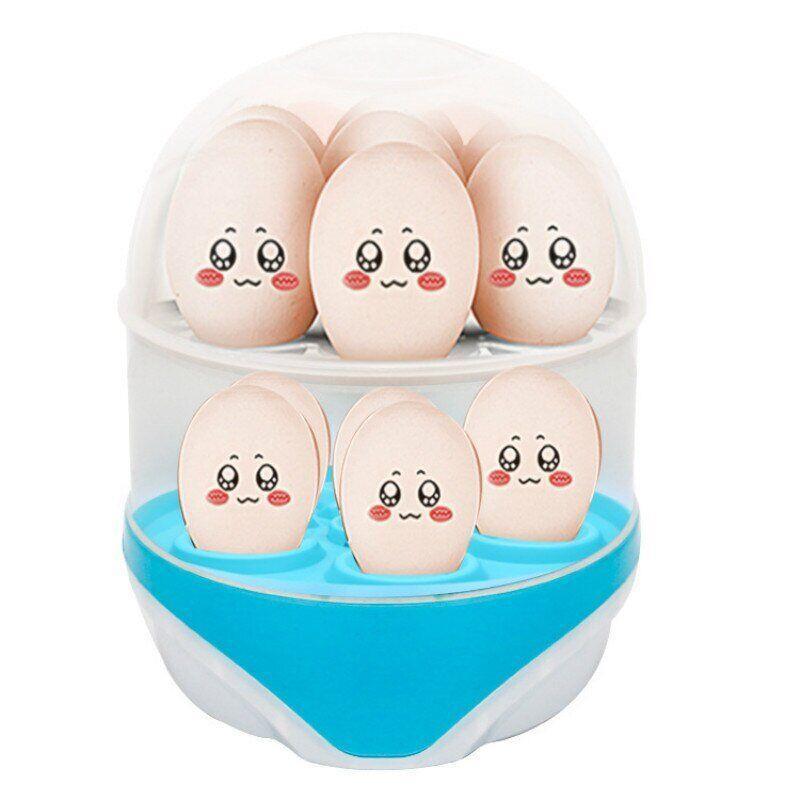 Двухуровневая яйцеварка-пароварка на 12 яиц электрическая