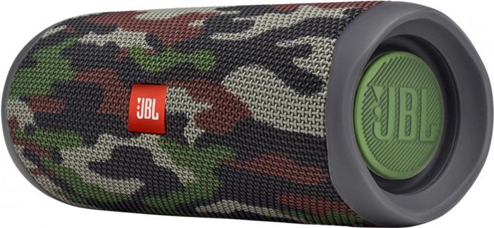 Акустична система 1.0 портативна JBL Flip 5, безпровідна, водозахищена, Bluetooth, Squad (JBLFLIP5SQUAD) (код