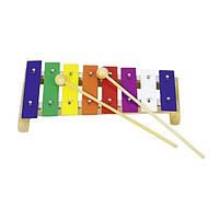 Музыкальный инструмент Goki Ксилофон детские музыкальные игрушки интерактивные для мальчиков девочек детские