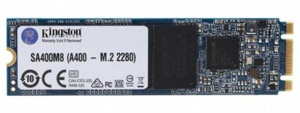 Твердотільний диск SSD M.2 120GB Kingston A400   2280, SATA TLC read/write до 500/450Мb/s  (код 111502)