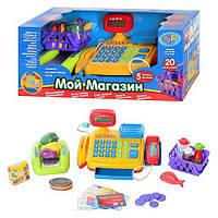 Интерактивный кассовый аппарат Мой магазин на русском языке Play Smart игрушки для мальчика девочки детские