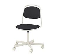 Стільчик дитячий, стул детский темно серый, KEA, ÖRFJÄLL, 393.030.39