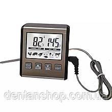 Цифровой термометр для мяса (духовки) KCASA ТР-710 ( -0 до 300°С ) с выносным щупом и магнитом