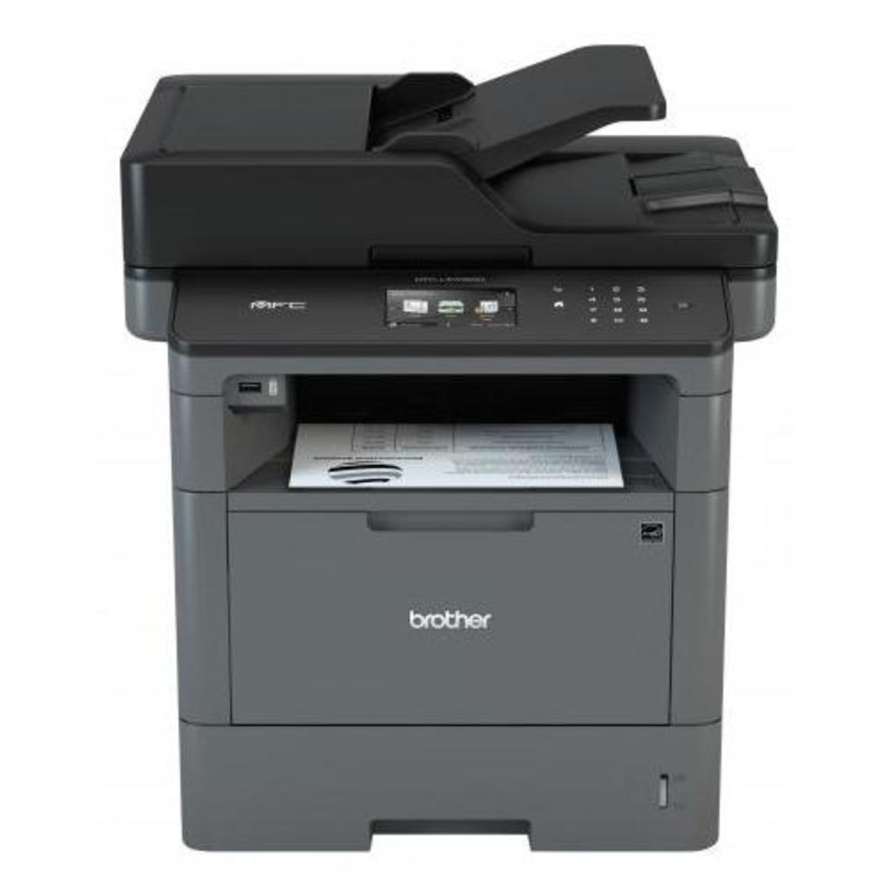 Багатофункціональний пристрій A4 Brother MFC-L5700DN (лазерний монохромний принтер/копір/сканер/факс,