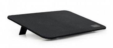 """Підставка-охолоджувач Gembird NBS-4F15-01 для ноутбука 15,6"""" до 15,6"""", 4x80 mm fan, black (код 114436)"""