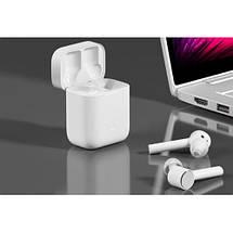 Беспроводные наушники XIAOMI Mi Air True Wireless Earphones White, фото 3