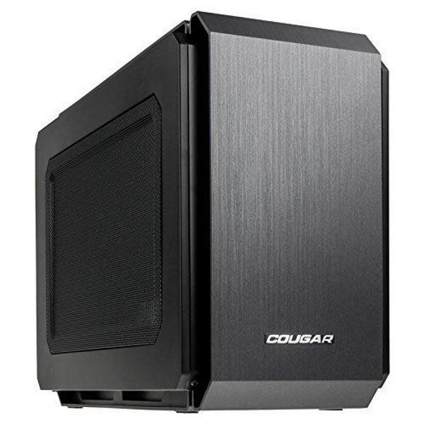 Корпус Cube-DeskTop Cougar QBX USB 3.0/USB 2.0/Audio/Mic 178x291x384 мм (код 95199)