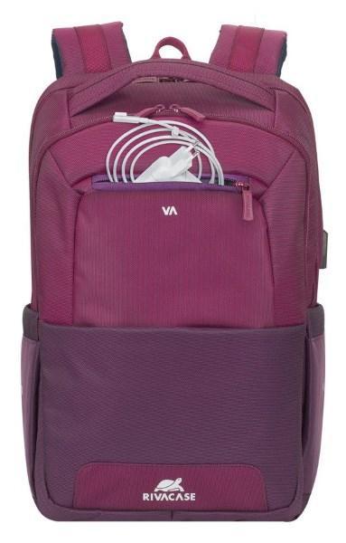 """Рюкзак 15.6"""" RivaCase 7767 (Claret violet/purple)  (код 110535)"""