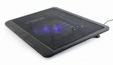 """Підставка-охолоджувач Gembird NBS-1F15-04 для ноутбука до 15"""" (код 110544)"""