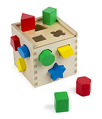 Ігровий набір Melissa & Doug Сортувальний куб (MD10575) (код 95233)