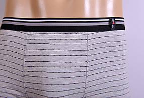 Мужские трусы - боксеры Redo 1447 L светло серый, фото 2