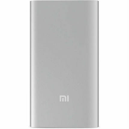 Внешний аккумулятор Xiaomi Mi2 5000mAh VXN4226CN Silver, фото 2