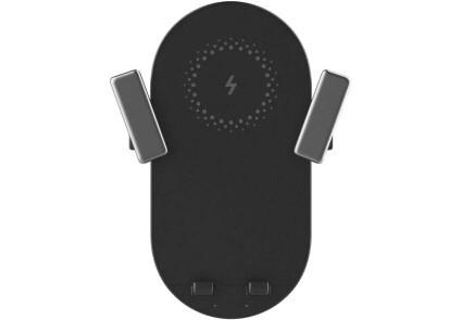 Индукционное автомобильное зарядное устроство ZMI Bracket 20W black