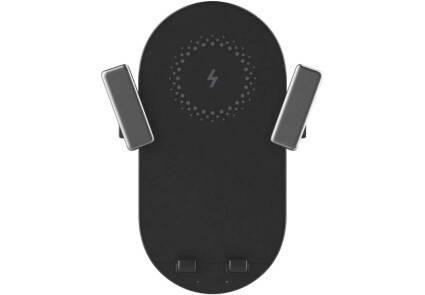 Индукционное автомобильное зарядное устроство ZMI Bracket 20W black, фото 2