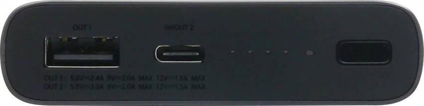 Индукционное зарядное устройство Xiaomi Mi 10000mAh Black, фото 3