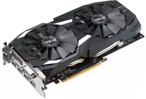Відеокарта Asus  Radeon RX 580 DUAL OC  8GB GDDR5   1380MHz/7000MHz, 256-bit, IP5X  Fans, PCIe x16 v3.0, DVI,