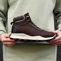 Мужские Зимние Ботинки на Меху Обувь Мужская Зимняя Размеры 41,42,43,44,45, фото 2